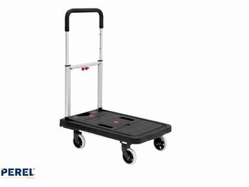 Transportkar Perel inklapbaar 68x41cm tot 150kg
