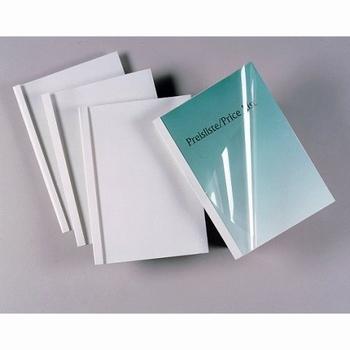 IBICO / GBC Thermische Omslag A4 Standaard 10mm wit 100 st.