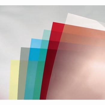 GBC Omslag A4 Colorclear 180 micron Rook / Smoke 100 stuks