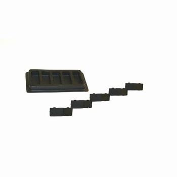 Rexel stempelkussen numeroteur zwart (verpakking 5 kussens)