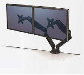 Fellowes Platinum monitorarm voor 2 beeldschermen
