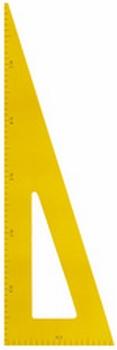 JPC Schoolbord Tekendriehoek 60 Graden hout magnetisch