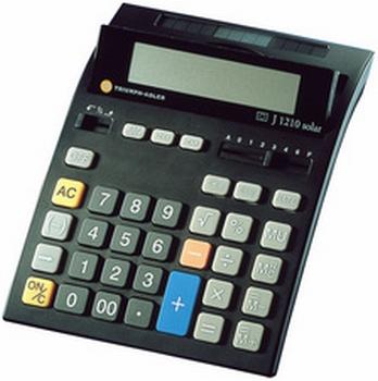 Triumph-Adler bureau - rekenmachine TWEN J-1210 solar