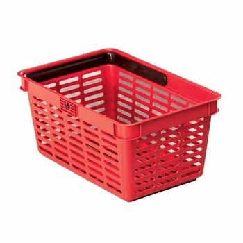 Durable Winkelmand 19 Liter stapelbaar Rood