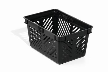 Durable Winkelmand 27 Liter stapelbaar Zwart