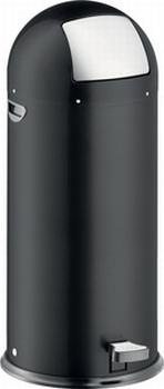 Luxe Helit Pedaalemmer metaal 52 liter Zwart