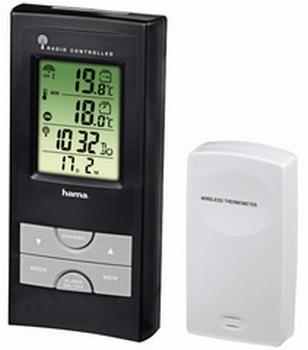 Hama Electronisch Weerstation EWS-165 Zwart / Zilver