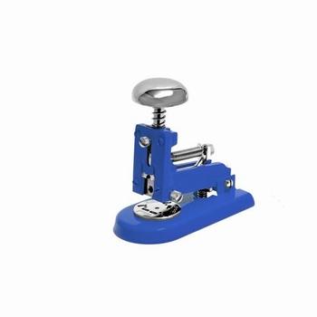 EL Casco M1 BL  luxe nietmachine klein Blauw / Chroom