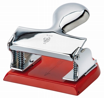 EL Casco M200 RO  luxe perforator Rood / Chroom
