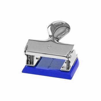 EL Casco M200 BL  luxe perforator Blauw / Chroom