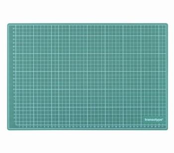 Transotype Snijmat Groen A1  900 x 600 x 3 mm