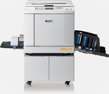 RISO SF 5030 duplicator / copyprinter A4 USB aansluiting