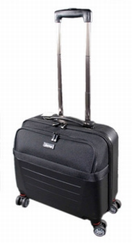 JSA reistrolley Laptop-Trolley zwart