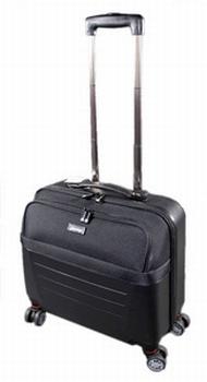 JSA reistrolley Laptop-Trolley zwart