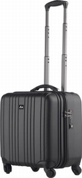 JSA Reistrolley Travel & Business 2 in 1 zwart