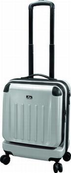 JSA Reistrolley Travel & Business zilver-matt