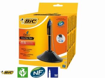 BIC Baliebalpen Pen-Desk met ketting zwart