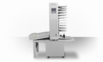 Superfax PSM-18 R vergaarmachine met nieter en ponser