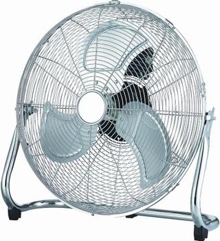 "Hoge Capaciteit TURBO vloer ventilator 18"" chroom"