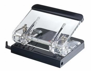 Wedo luxe acryl exclusiv perforator transparant / zwart