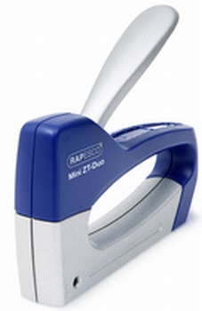 Rapesco Handtacker Z T-Duo Mini blauw / zilver