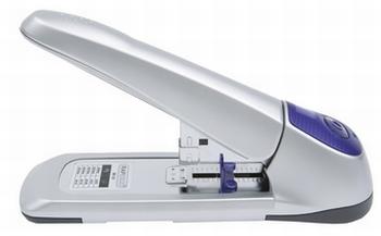 Rapesco blokhechter AV-69 nietmachine zilver/violet