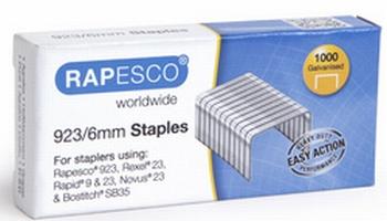 Rapesco 923/6 nieten voor blokhechter verzinkt 1000 stuks