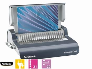 Fellowes Quasar-E 500 Elektr. inbindmachine plastic bindrug