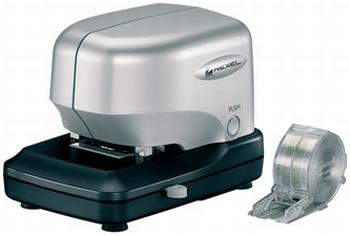 Rexel Stella 30 elektrische nietmachine zilver/zwart 30 vel