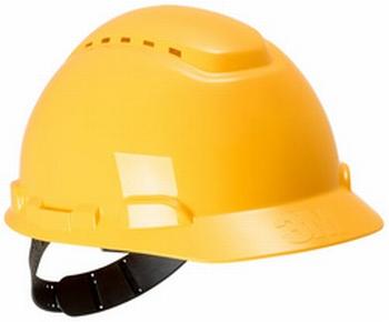 3M veiligheidshelm voor industrie H700 geel 54-62cm