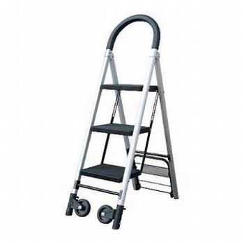 Inklapbare Steekwagen & Ladder combinatie