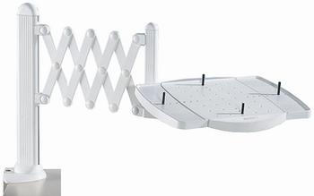 Maul telefoonarm Schaar met Multifinctioneel platform grijs