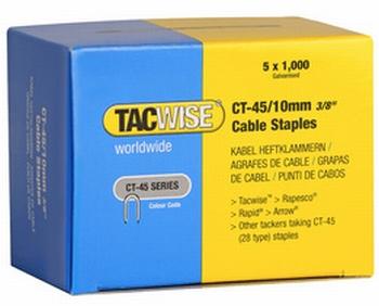 TACWISE kabelklemmen / Kabelnieten CT-45/10 mm verzinkt