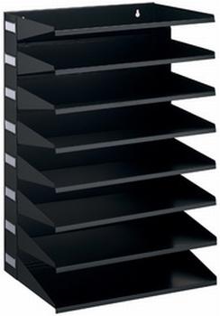 Durable sorteerrek Business metaal 8-vaks zwart