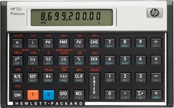 HP 12c Platinum Financiele rekenmachine - Duitse uitvoering