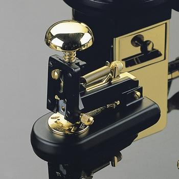 EL Casco M1 LN  luxe nietmachine klein Zwart / 23 krt Gold