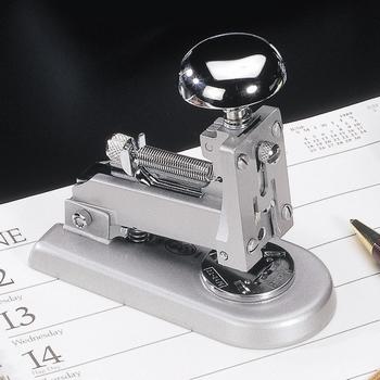 EL Casco M1 CG  luxe nietmachine klein Chroom / Grijs