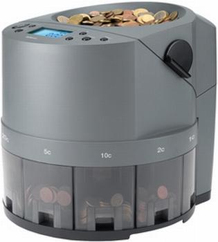 Safescan 1450 muntentel- en sorteermachine donkergrijs
