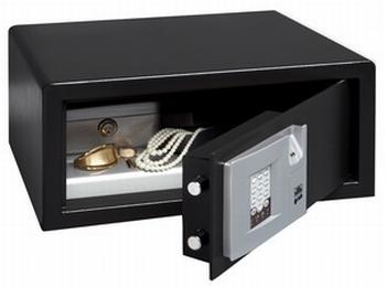 Hotel- Laptopsafe met toetsenscherm en vingerscan