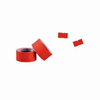 Ratiotec prijstang etiketten 21x12 mm oranje fluo  10 rollen