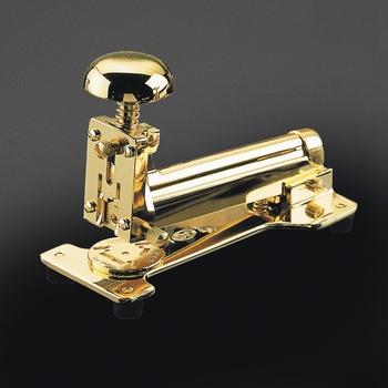 EL Casco M15 L  luxe nietmachine groot 23 krt Gold plated