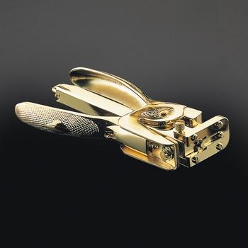 EL Casco M85 L  luxe niettang 23 krt Gold plated