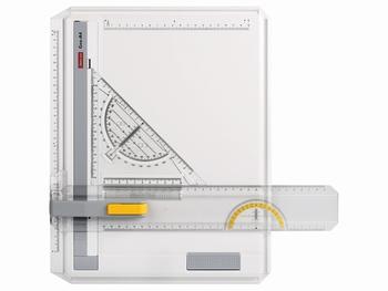 Aristo tekenplaat GEO A4 met sneltekendriehoek