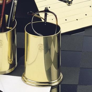 EL Casco M652 L luxe brillenkoker 23 krt Gold plated