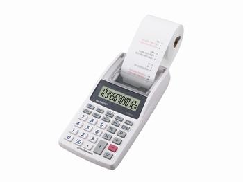 Calculator Sharp EL1611V grijs print