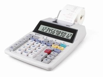 Calculator Sharp EL1750V grijs print