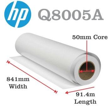 HP Q8005A Universal Plotterpapier inkjet A0 formaat 80 grams