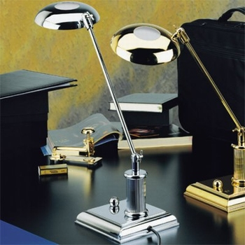 EL Casco M666 CT luxe bureaulamp Chroom