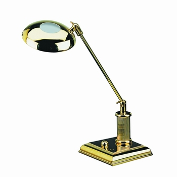EL Casco M666 L luxe bureaulamp Gold plated