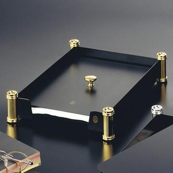 EL Casco M674 LN luxe afdekplaat brievenbak Zwart / Gold